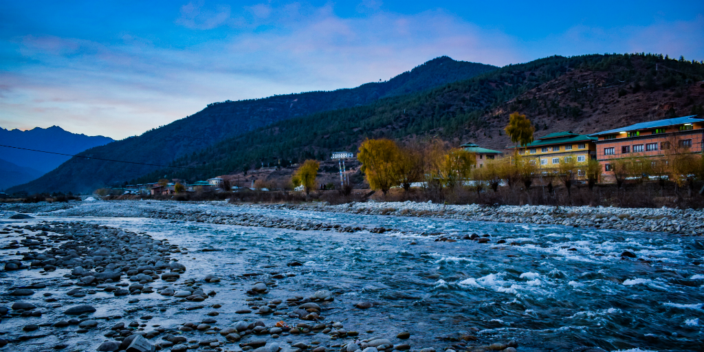 By 2030 Bhutan plans to reach zero net greenhouse gas emissions and to produce zero waste
