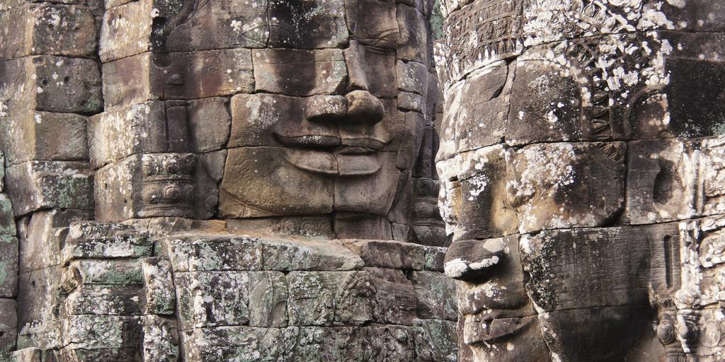 Cambodia Bayon Ankor Thom