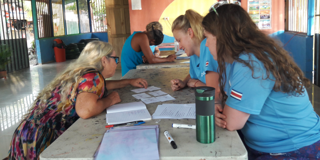Work with women in Costa Rica to add to their well-being