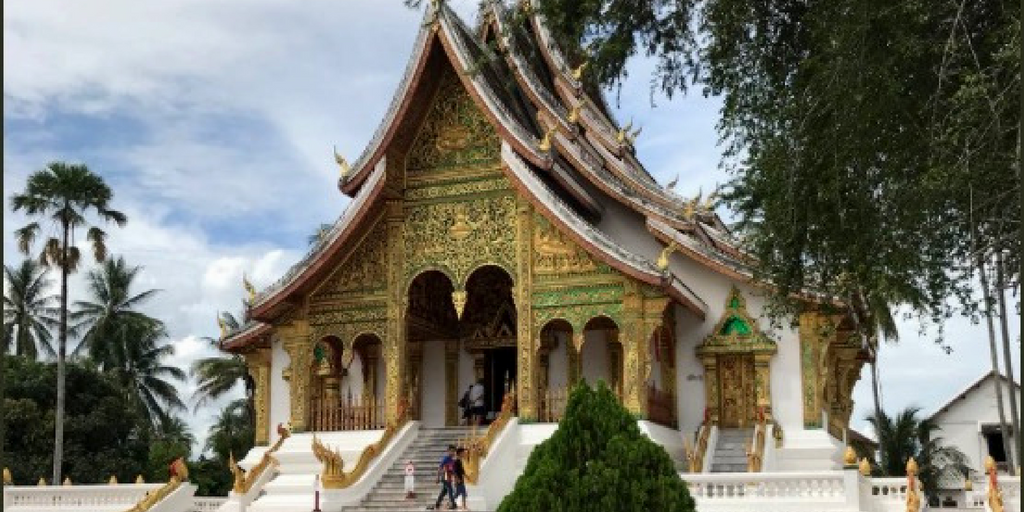 Traditional architecture in Luang Prabang, Laos