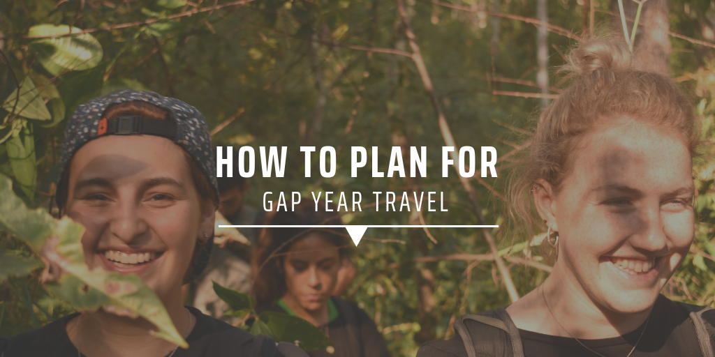 How to plan for gap year travel