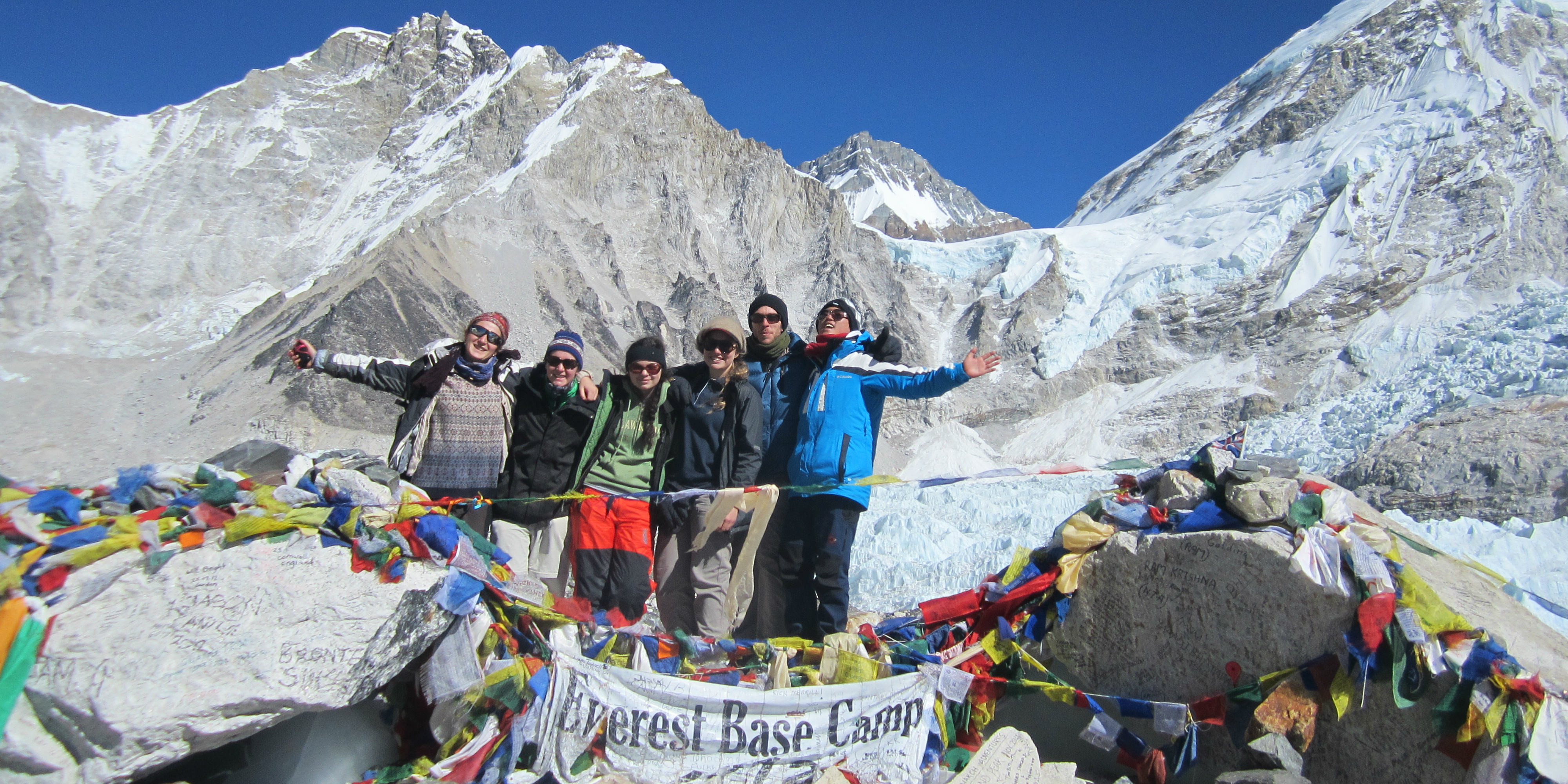 Wondering what to do in a gap year? These GVI participants trekked to Everest Base Camp in Nepal.