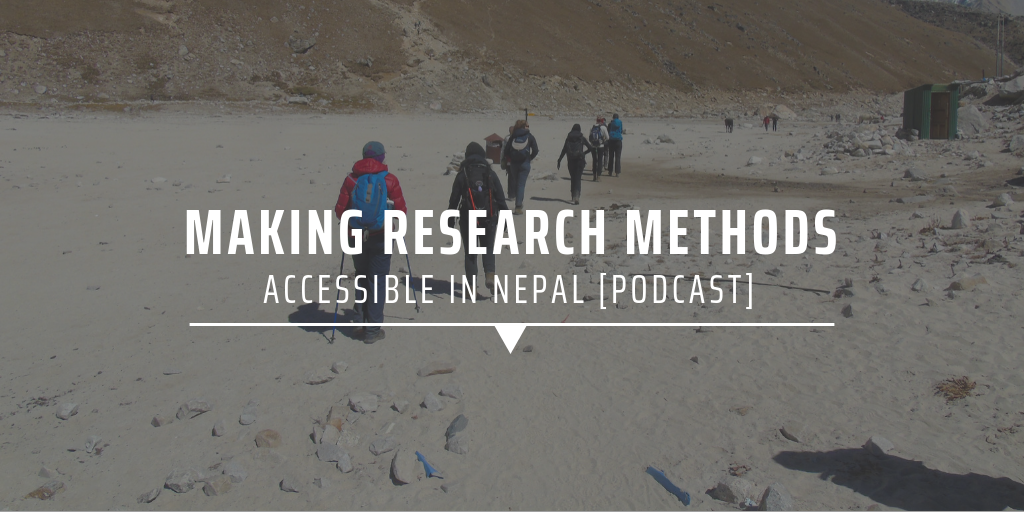 Making research methods available in Nepal