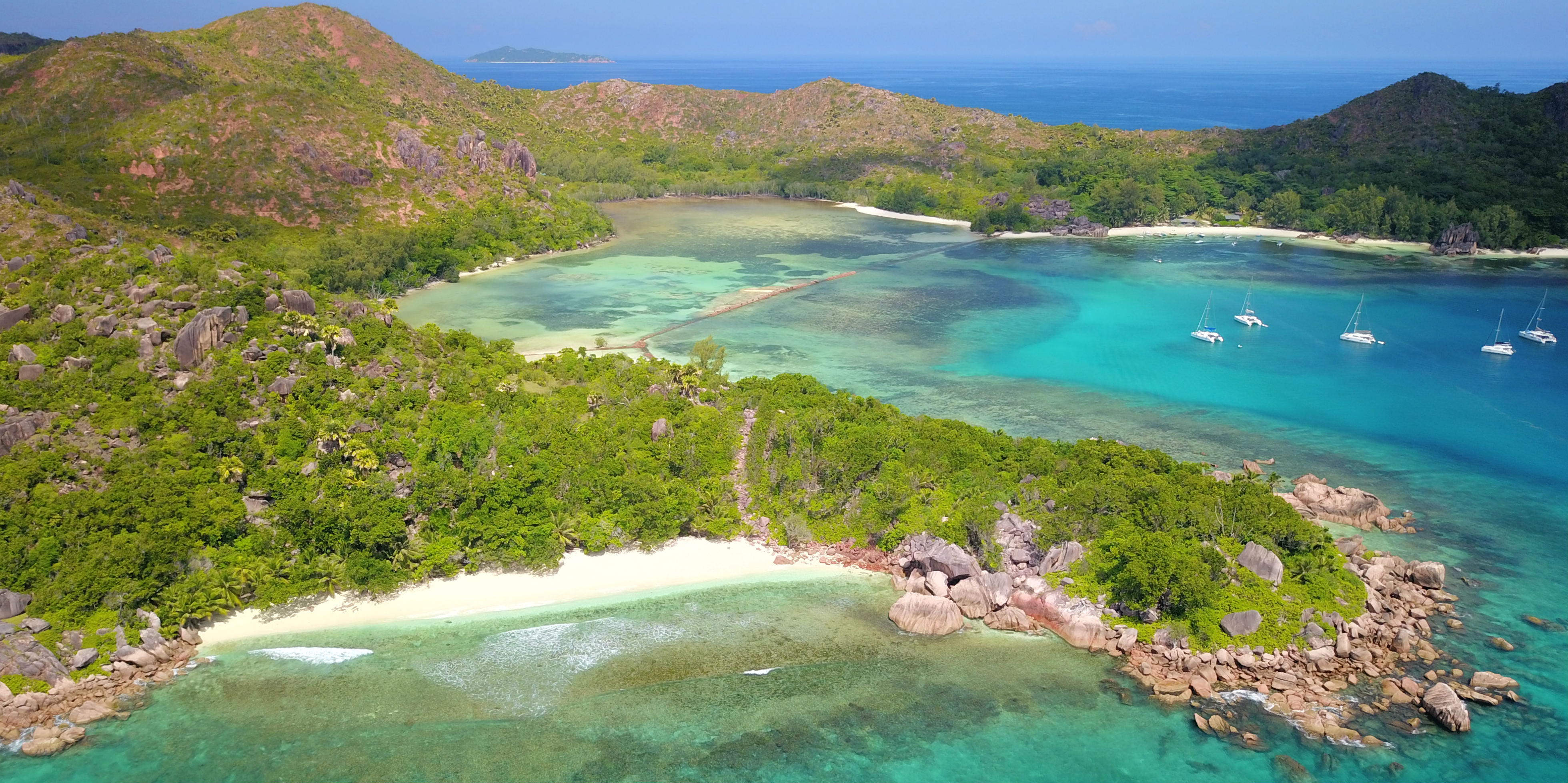 This remote GVI base runs wildlife conservation programs together with the Seychelles national park authority.