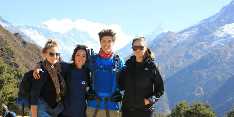Make sure you take climate into account when deciding what to take on a school trip abroad. These teen volunteers had to prepare for the cold when volunteering in Nepal.