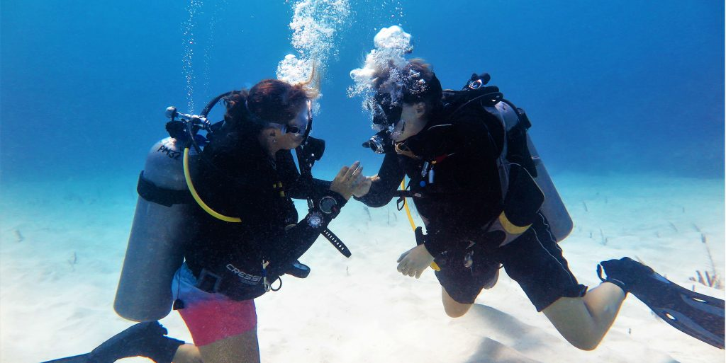 What will make a difference? Volunteer opportunities that involve marine conservation, diving and coral reef monitoring with GVI.