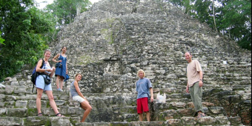 Visit Mayan ruins in Puerto Morelos, Mexico