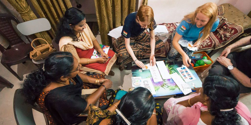 Promoting women's empowerment is a huge focus of the GVI volunteer program in Kerala, India.