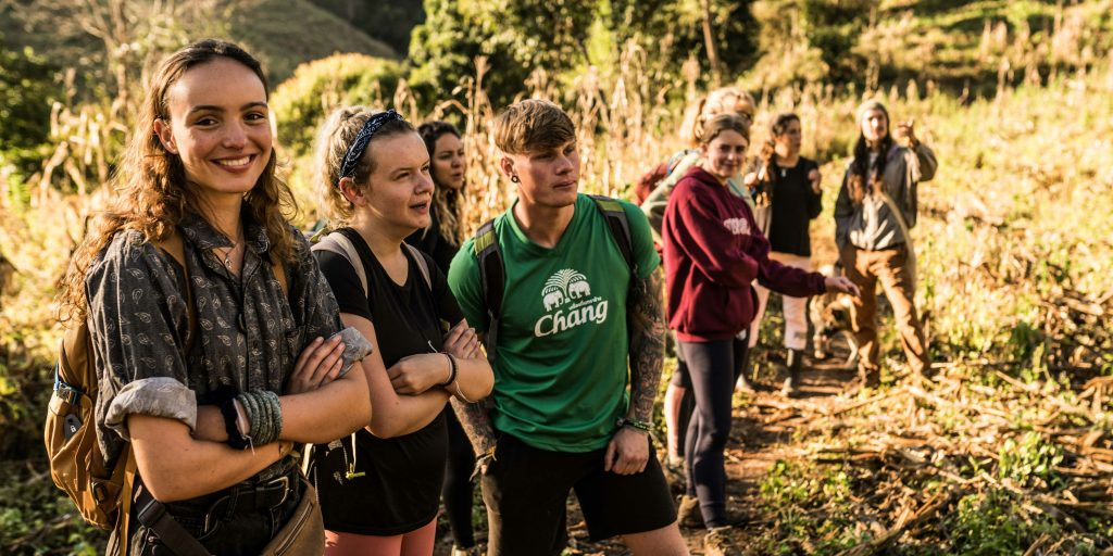 These GVI volunteers on a hike know that leadership training isn't just for managers.