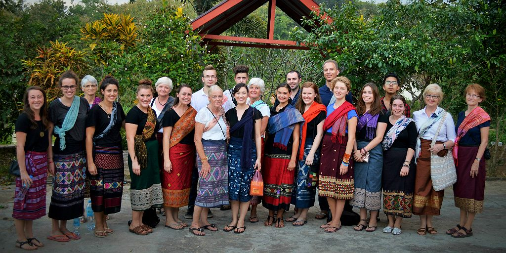 GVI volunteers - cultural immersion