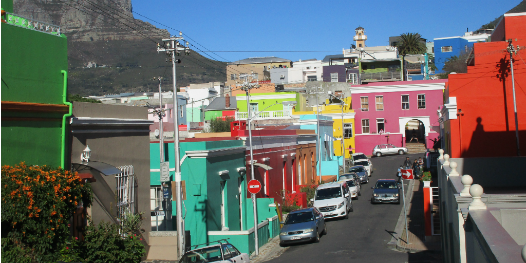 A cultural heritage area in Cape Town, South Africa.