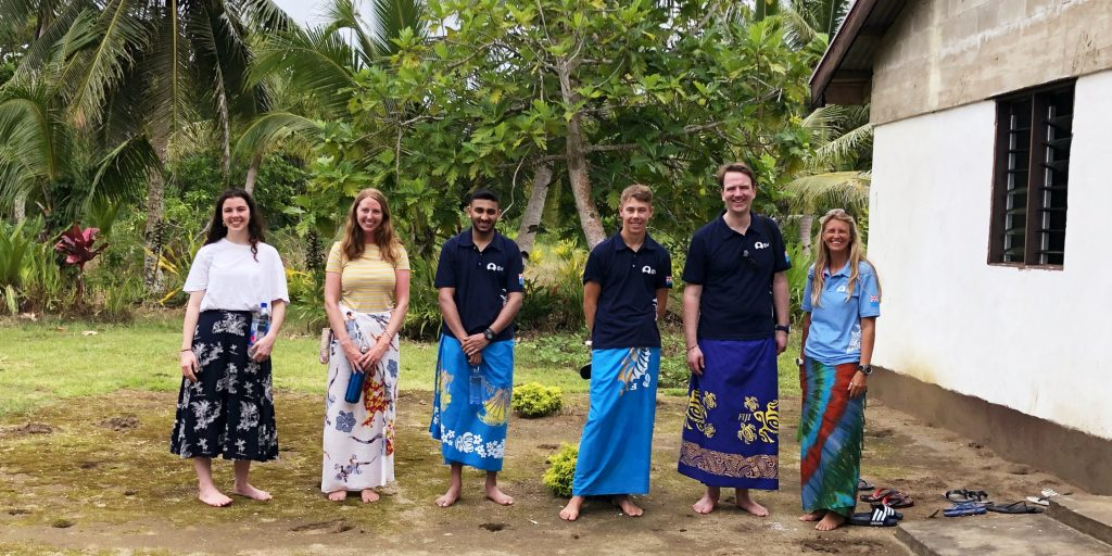 Where to volunteer in the summer in Fiji.
