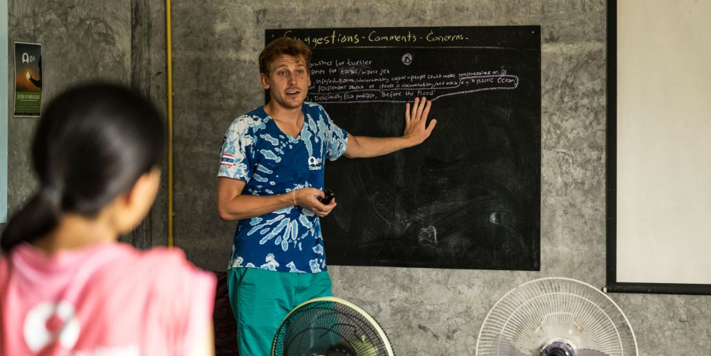 Teaching English in Thailand is one of the types of volunteer opportunities you can join.