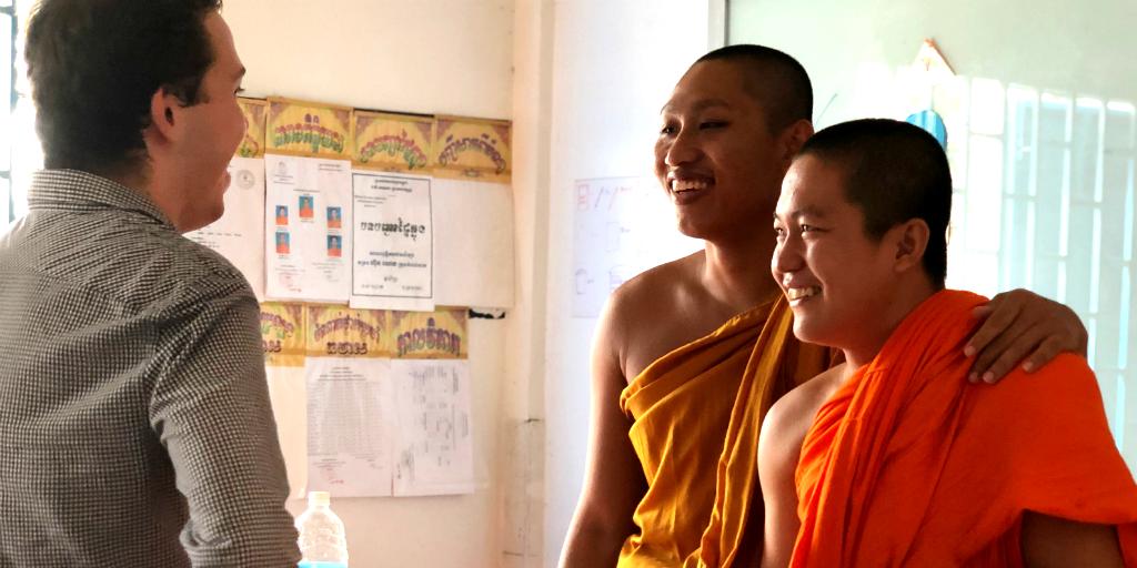 Volunteer to teach English in Laos.