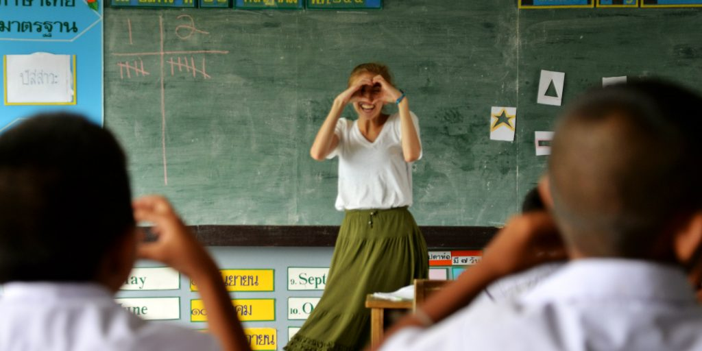 A Tefl course will help you to travel abroad.