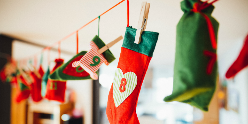 Level up your eco friendly christmas with a DIY advent calendar