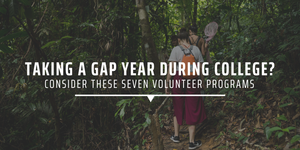 Taking a gap year during college? Consider these seven volunteer programs