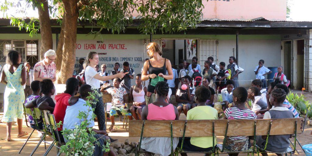 teaching girls in zambia