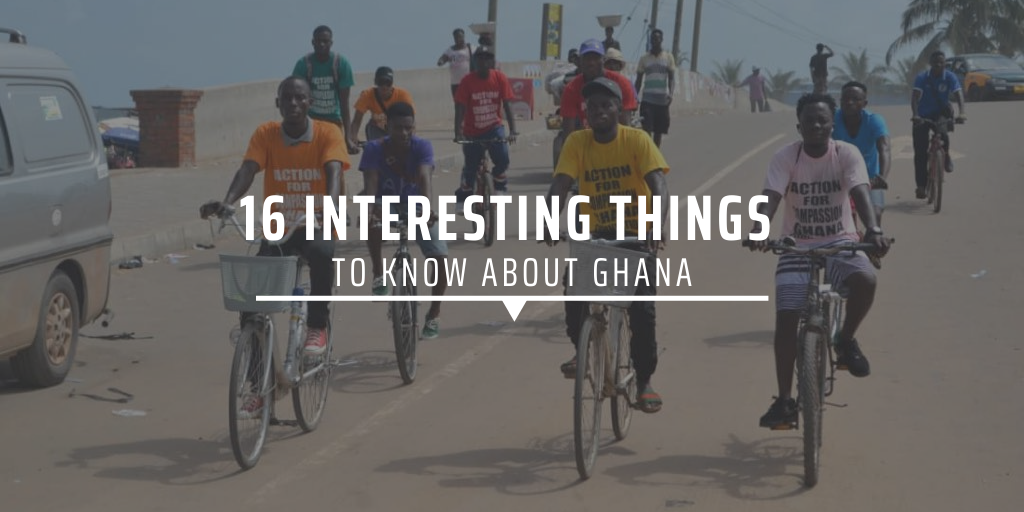 16 interesting things to know about Ghana [INFOGRAPHIC]